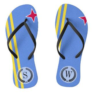 Aruba-Flagge Flip Flops
