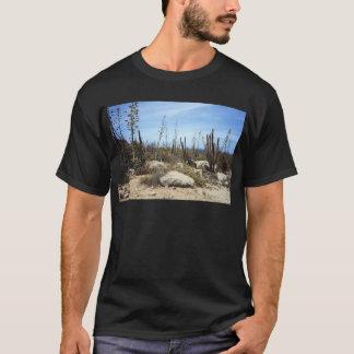 Aruba-Landschaft mit Kaktus T-Shirt