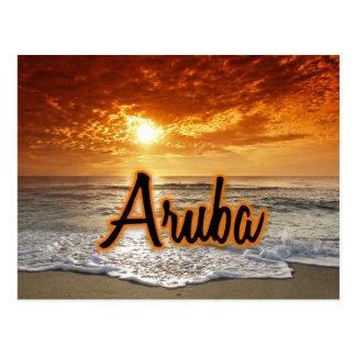Aruba Postkarte