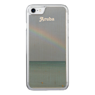 Aruba-Regenbogen Carved iPhone 8/7 Hülle