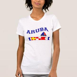 Aruba (Seeflaggen-Rechtschreibung) T-Shirt
