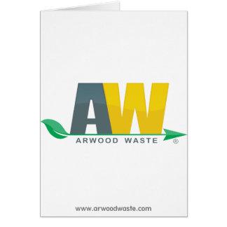 Arwood überschüssige Gruß-Karte Karte