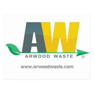 Arwood überschüssige Postkarte