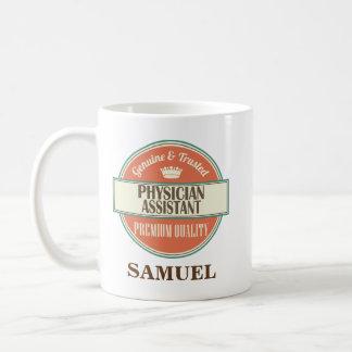 Arzt-behilfliches personalisiertes kaffeetasse