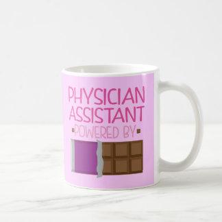 Arzt-behilfliches Schokoladen-Geschenk für sie Kaffeetasse