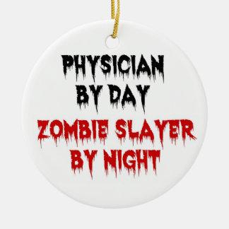 Arzt durch TageszombieSlayer bis zum Nacht Keramik Ornament