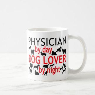 Arzt-Hundeliebhaber Kaffeetasse