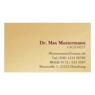 Arzt Visitenkarte