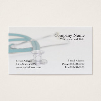 Arzt-Visitenkarte Visitenkarte