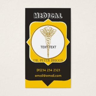 Arztcaduceus-Gesundheitswesen-Termine BIZCards Visitenkarten