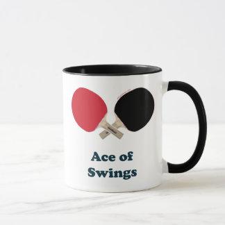 As des Schwingen-Klingelns Pong Tasse