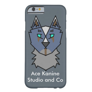 As Kanine Logo-Telefon-Kasten Barely There iPhone 6 Hülle