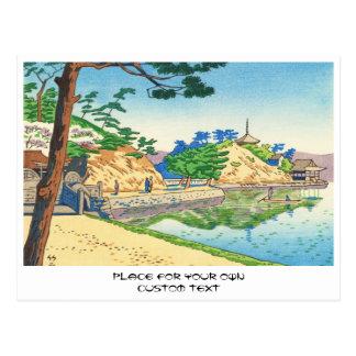 Asano Takeji, Ansichten von Kunst Wakayama Postkarte