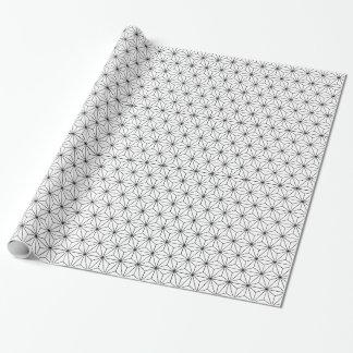 Asanoha japanisches Muster-Packpapier Geschenkpapier