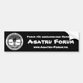 Asatru Forum Logo Autoaufkleber