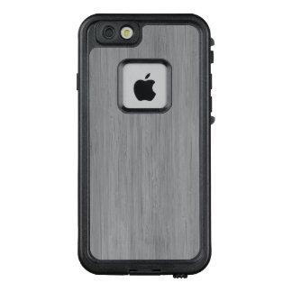 Aschen-Grau-hölzerner Korn-Bambusblick LifeProof FRÄ' iPhone 6/6s Hülle