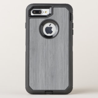 Aschen-Grau-hölzerner Korn-Bambusblick OtterBox Defender iPhone 8 Plus/7 Plus Hülle