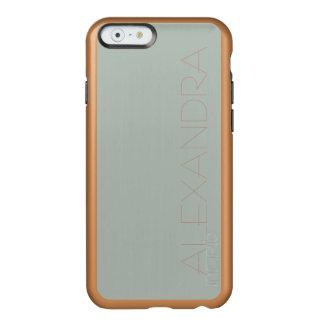 Aschen-Grau-Normallack fertigen es besonders an Incipio Feather® Shine iPhone 6 Hülle