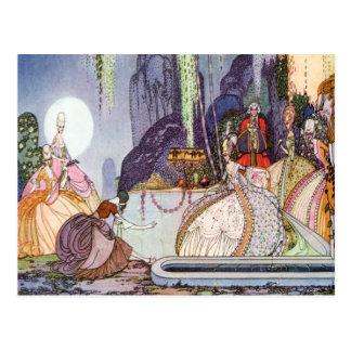 Aschenputtel Kay-Nielsens am Ball Postkarte