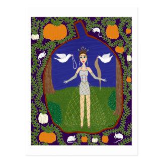 Aschenputtel (Märchen-Mode #2) Postkarte