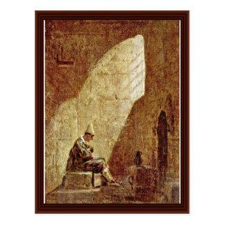 Aschermittwoch, durch Spitzweg Karl Postkarte