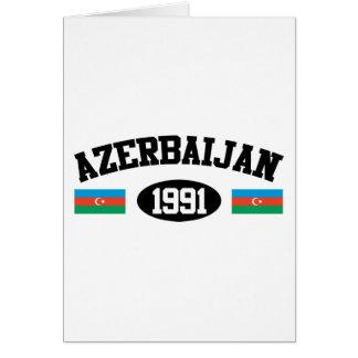 Aserbaidschan 1991 karte