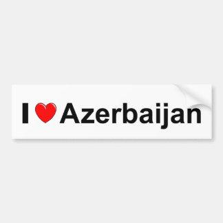 Aserbaidschan Autoaufkleber