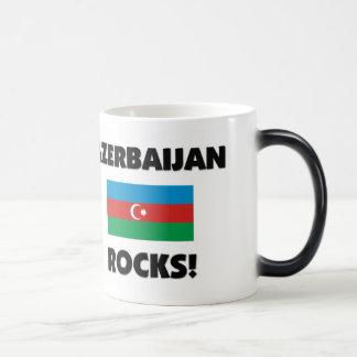 Aserbaidschan-Felsen Verwandlungstasse