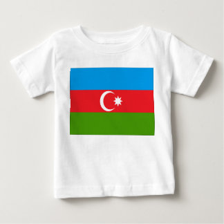 Aserbaidschan-Flagge Baby T-shirt