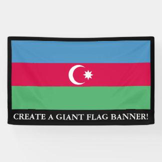 Aserbaidschan-Flagge Banner