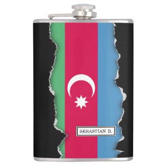 Aserbaidschan-Flagge Flachmann