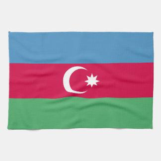 Aserbaidschan-Flagge Geschirrtuch