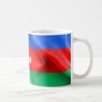Aserbaidschan-Flagge Kaffeetasse