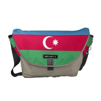 Aserbaidschan-Flagge Kuriertasche
