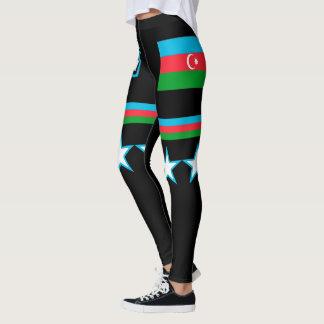 Aserbaidschan-Flagge Leggings