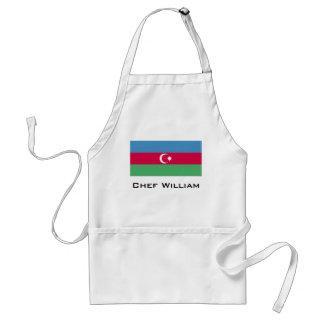 Aserbaidschan-Flagge Schürze