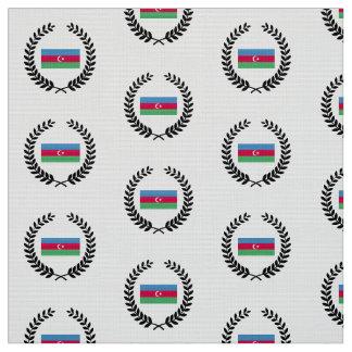 Aserbaidschan-Flagge Stoff