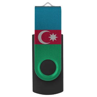 Aserbaidschan-Flagge Swivel USB Stick 2.0