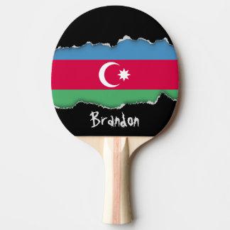 Aserbaidschan-Flagge Tischtennis Schläger