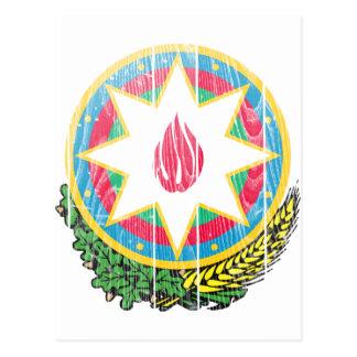 Aserbaidschan-Wappen Postkarte