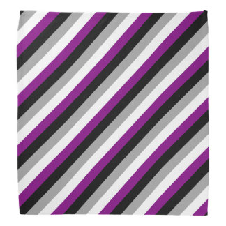 Asexuale Flagge Halstuch