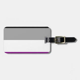 Asexuale Stolz-Flagge Gepäckanhänger