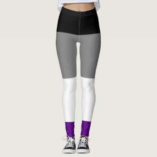 Asexuale Stolz-Flagge Leggings