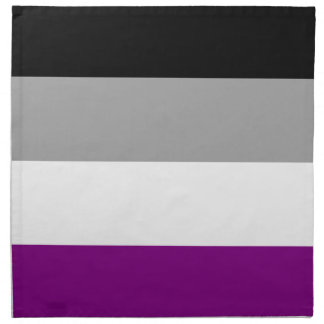 Asexuale Stolz-Flagge Serviette