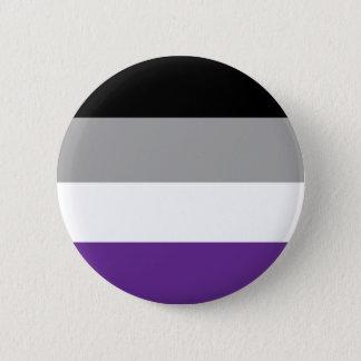 Asexualer Flaggen-Knopf Runder Button 5,1 Cm
