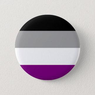 Asexuales Flaggen-Abzeichen Runder Button 5,1 Cm