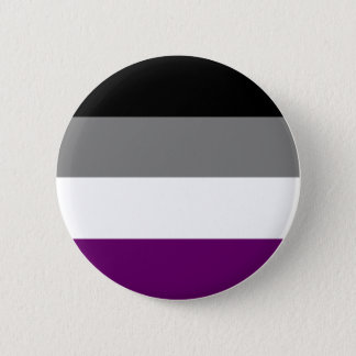 Asexuales Stolz-Button Runder Button 5,7 Cm