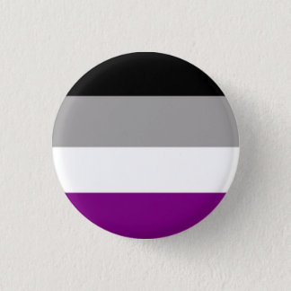 Asexuality Runder Button 2,5 Cm