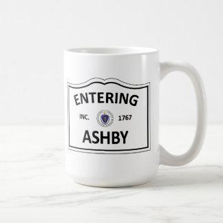 ASHBY MASSACHUSETTS Hometown-Masse MA Townie Kaffeetasse