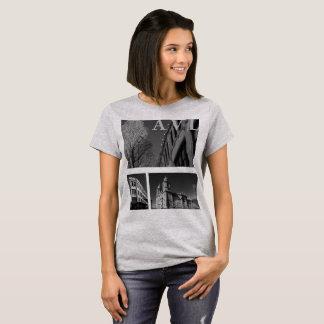 Asheville-Architektur T-Shirt